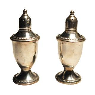 Maurice Duchin Silver Salt & Pepper Shakers - Pair