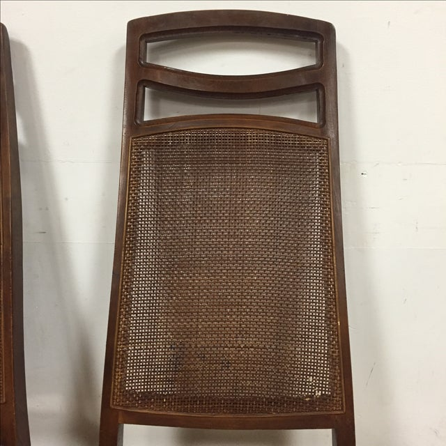 Mid Century Dining Chairs - Set of 6 - Image 3 of 11
