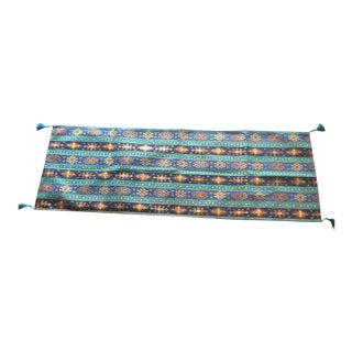 "Authentic Kilim Patterned 54""x 18.5"" Table Runner"