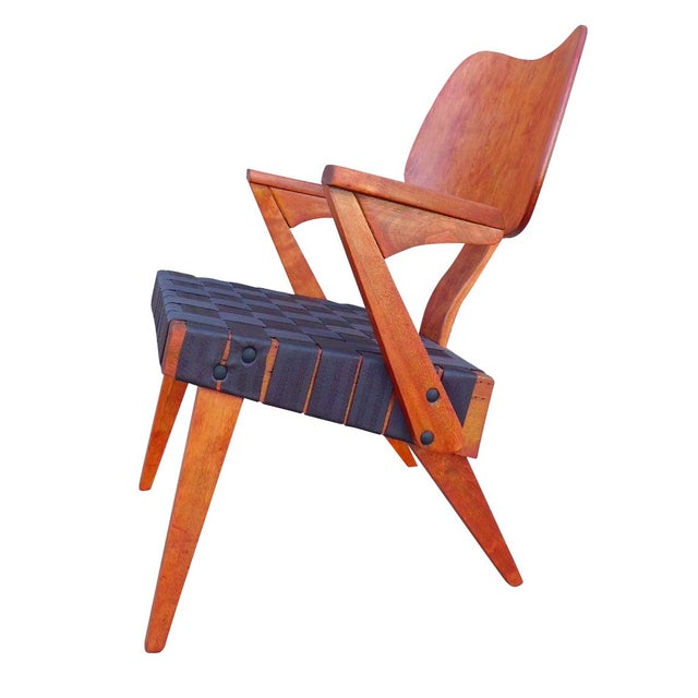 Russell Spanner Ruspan Original Lounge Arm Chair - Image 1 of 8