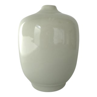 White China Bud Vase