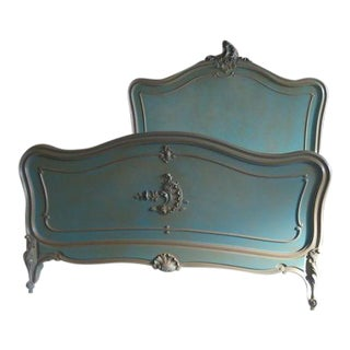 Antique French Rococo-Style Bed