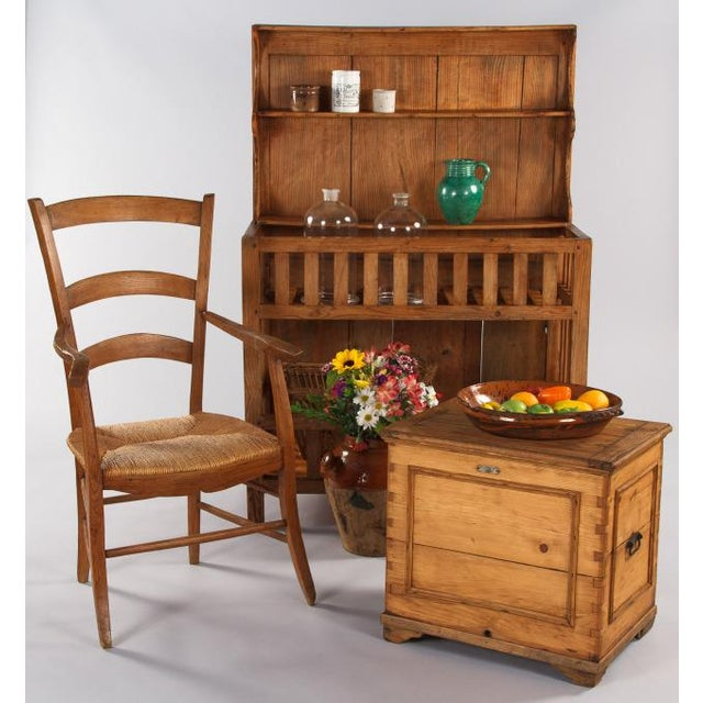 Early 1900s french country egouttoir cabinet chairish for French country websites