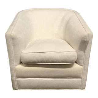 BSC Larsen Swivel Barrel Club Chair