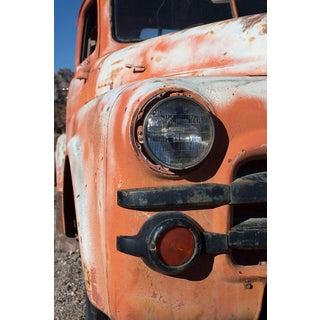 Orange Truck Headlight Photograph by Armando Arorizo