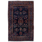 Image of Antique Persian Kashan Rug