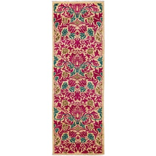 "Arts & Crafts, Hand Knotted Runner Rug - 2' 7"" X 7' 10"""