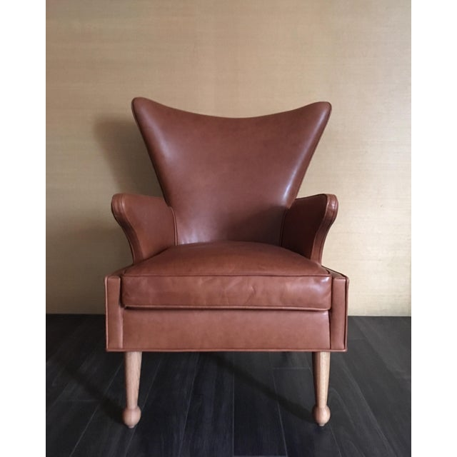 Sabin Mulholland Wingback Chair - Image 2 of 5