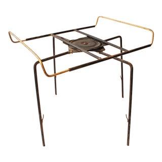 Mid Century Modern Lazy Susan Revolving Table Base