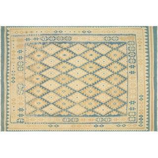 """Afghan Maimana Kilim Flatweave Rug, 6'8"""" x 9'10"""""""