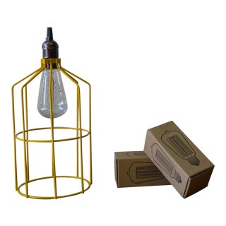 Modern Vibrant Yellow Pendant Lamp