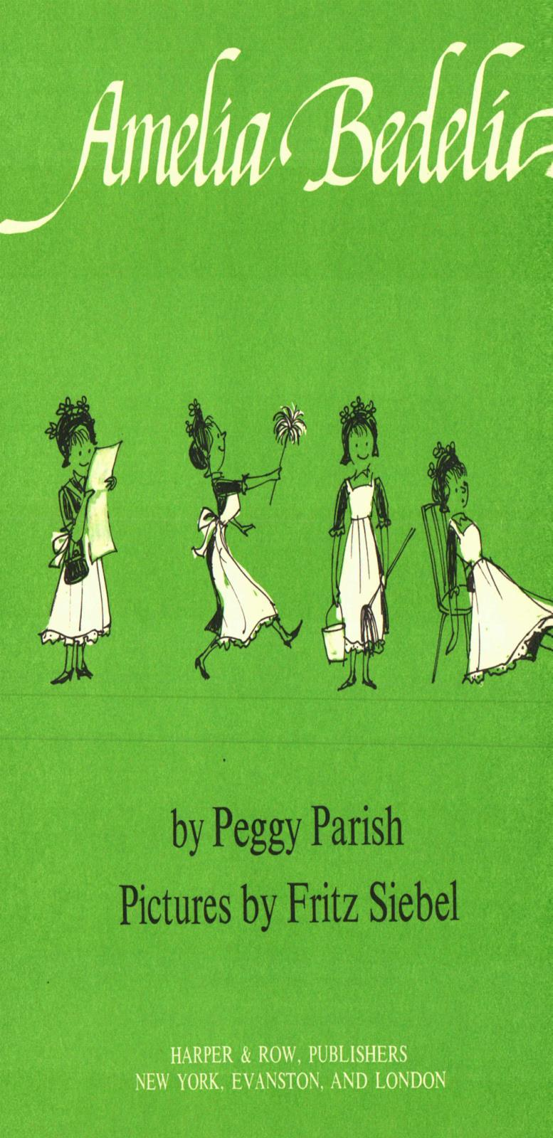 Peggy Parish Amelia Bedelia Book Chairish