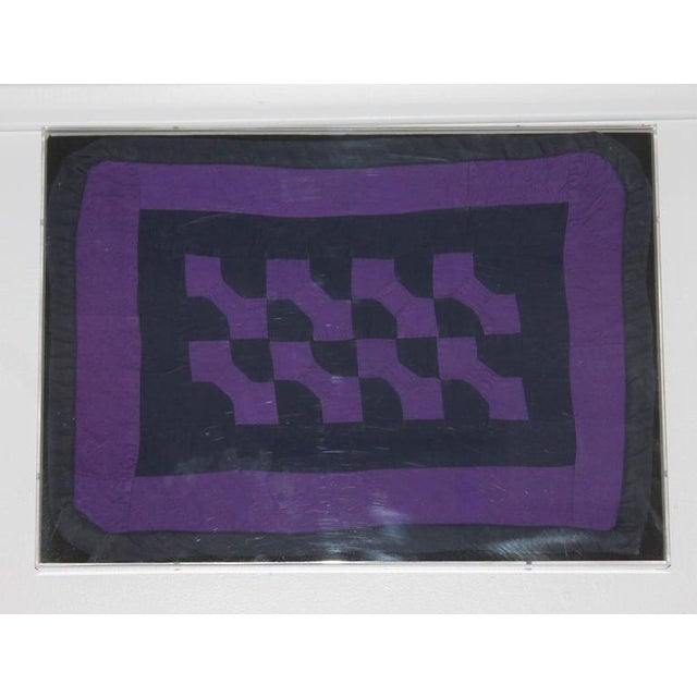 Collection of Four Rare Pennsylvania Amish Doll Quilts - Image 3 of 7