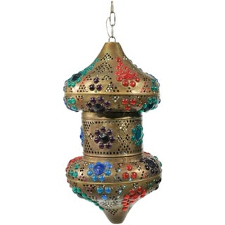 Colorful Moroccan Style Lantern