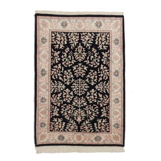 Persian Style Hand Knotted Wool Rug 3′11″ × 5′9″