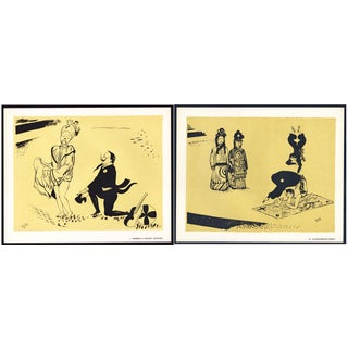 1944 Lithographs - Circus: # 4 & 22 - A Pair