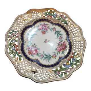 Filigree Porcelain Charger Plate