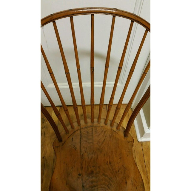 18th Century Ebenezer Tracy Windsor Chair - Image 4 of 8