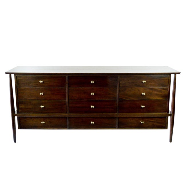 Vintage Finn Juhl Style Dresser from John Stuart - Image 1 of 8