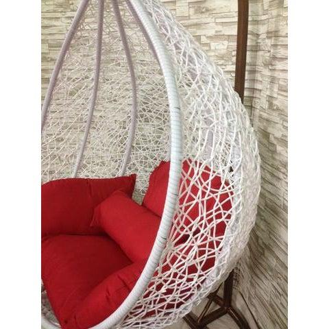 Single Wide Tear Drop Swing Chair - Image 4 of 7