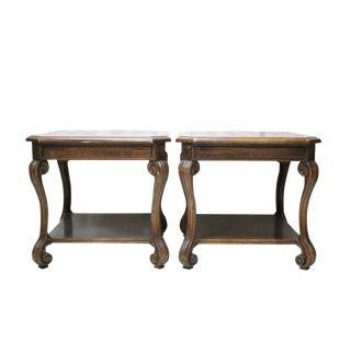 Italian Style End Tables - A Pair
