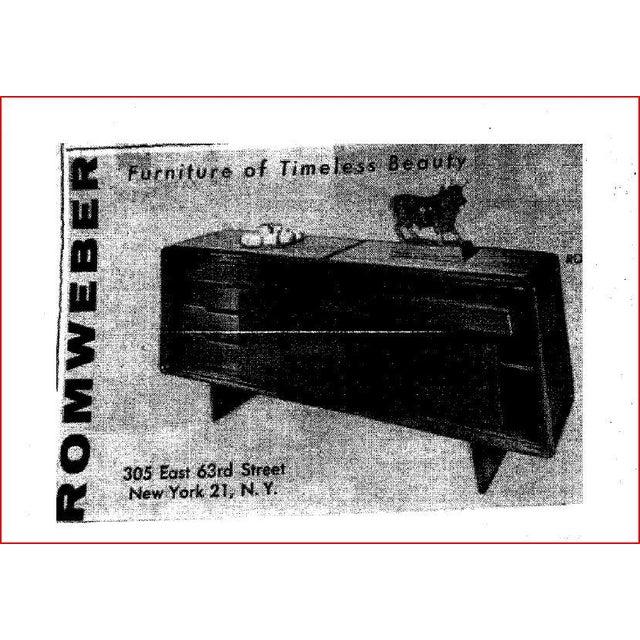 Romweber Mid-Century Modern Buffet Table - Image 10 of 10