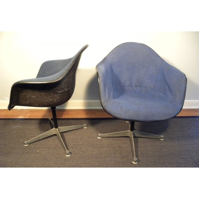 Herman Miller Mid-Century Shell Chairs - A Pair - Image 3 of 7