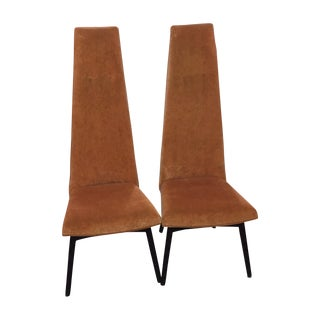Adrian Pearsall High Back Chairs - Pair