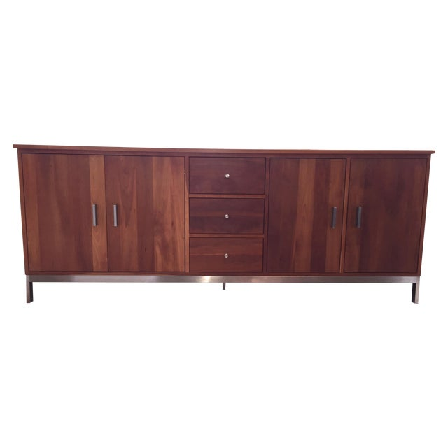 Room & Board Cherry Wood Custom Credenza - Image 1 of 10