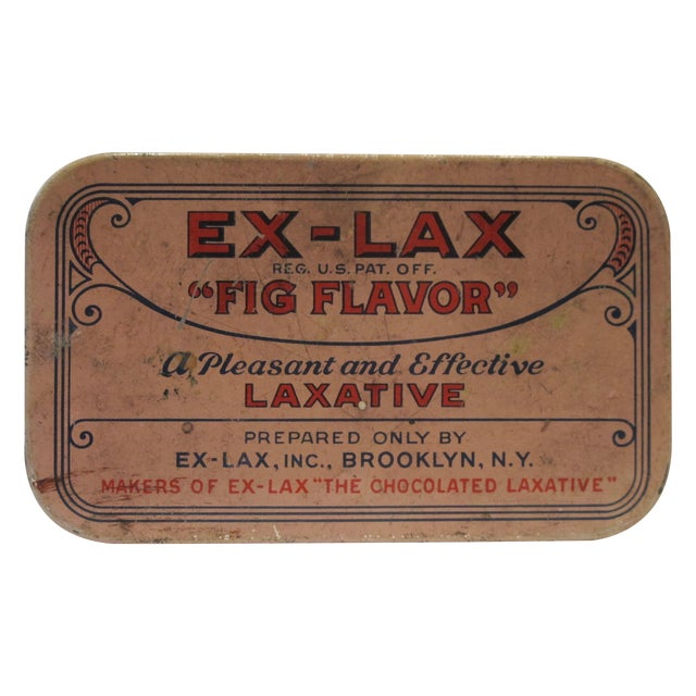 Vintage Ex Lax Tobacco Tin - Image 1 of 5