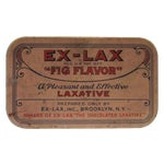 Image of Vintage Ex Lax Tobacco Tin