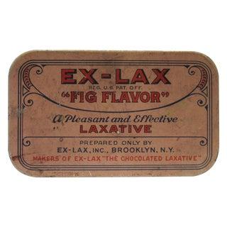Vintage Ex Lax Tobacco Tin