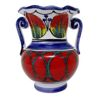 Italian Ceramic Accent Vase