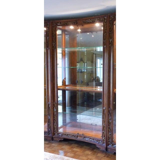 Henredon Alfresco Collection Concave Display Cabinet - Image 2 of 9