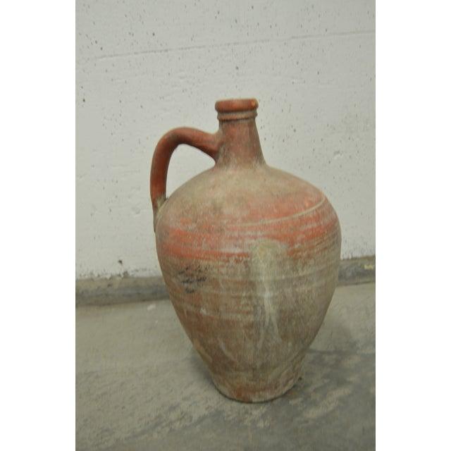 Greek Antique Stamna Pottery Vase - Image 3 of 4