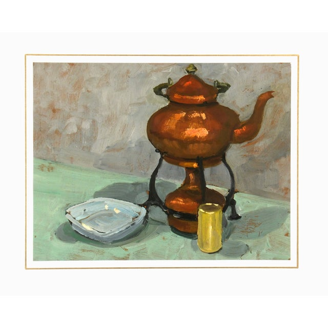 Image of Vintage Oil Painting, C.1960