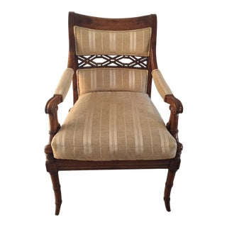 Century Faux Bamboo Chair