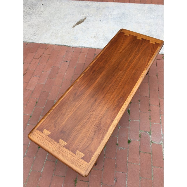 Mid-Century Lane Acclaim Dovetail Coffee Table - Image 3 of 7