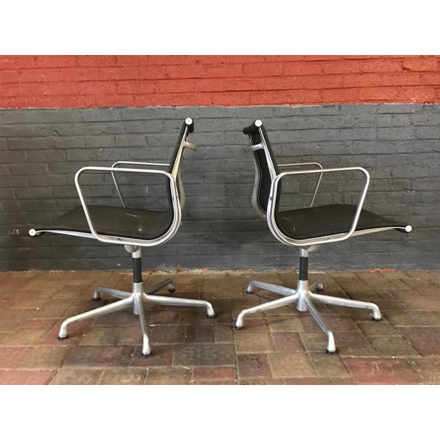 Eames For Herman Miller Aluminum Chair In Mesh Chairish