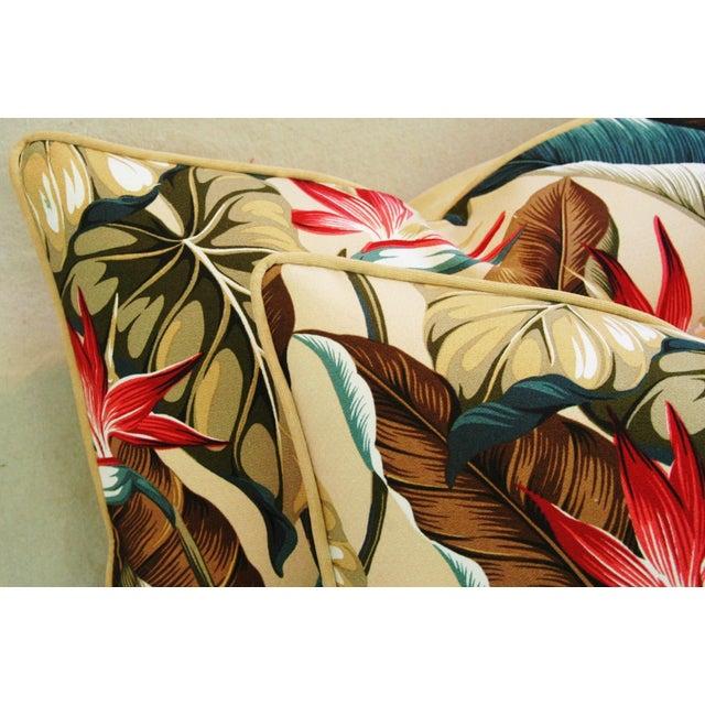 Custom Tropical Bird of Paradise Pillows - A Pair - Image 6 of 11
