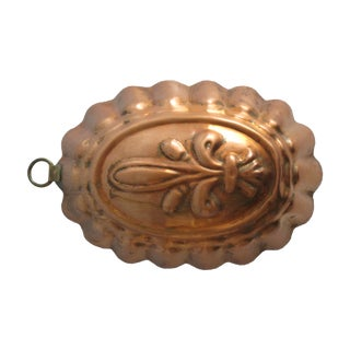 Copper Fleur-De-Lis Mold