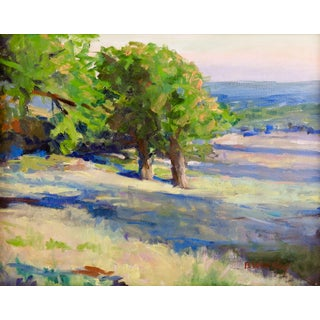 Marble Falls Texas Plein Air Painting