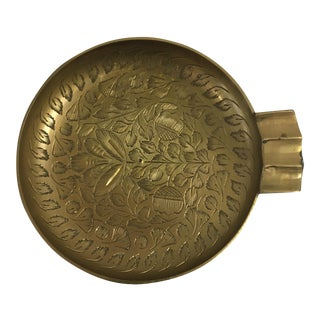 Vintage Indian Brass Ashtray