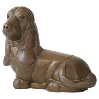 Sergio Bustamante Basset Hound Sculpture
