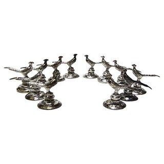 Pheasant Place Card Holders - Set of 12
