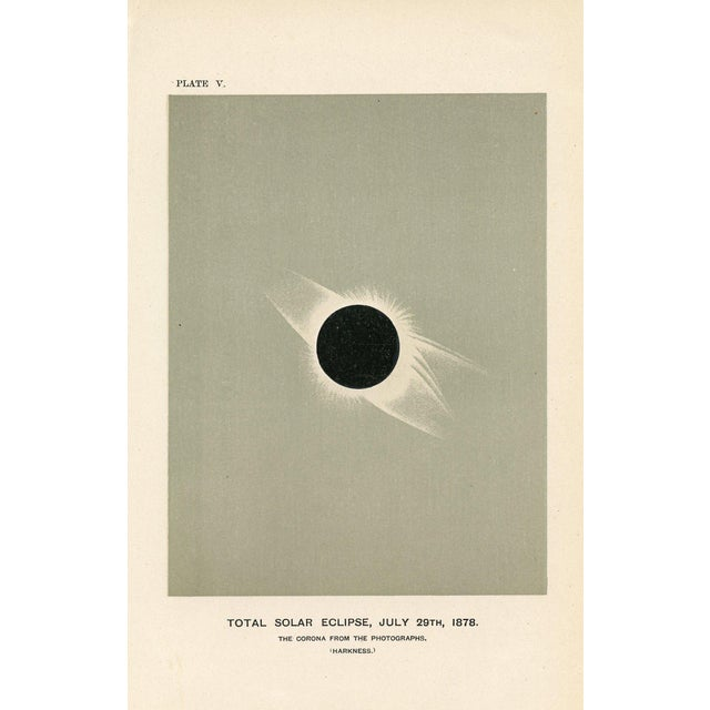 Antique 1880s Astronomy Prints - A Pair - Image 2 of 3