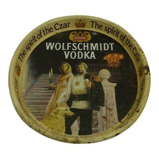 "Vintage ""Wolfschmidt Vodka"" Serving Tray"