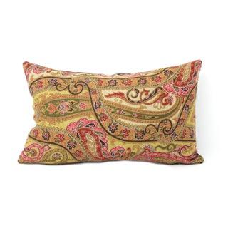Italian Linen Paisley Pillows - Pair