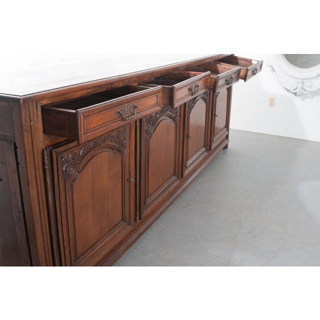 French 19th Century Oak Enfilade - Image 7 of 10