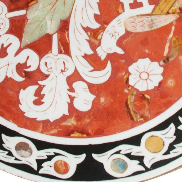 Pietra Dura Mosaic Table - Image 7 of 10